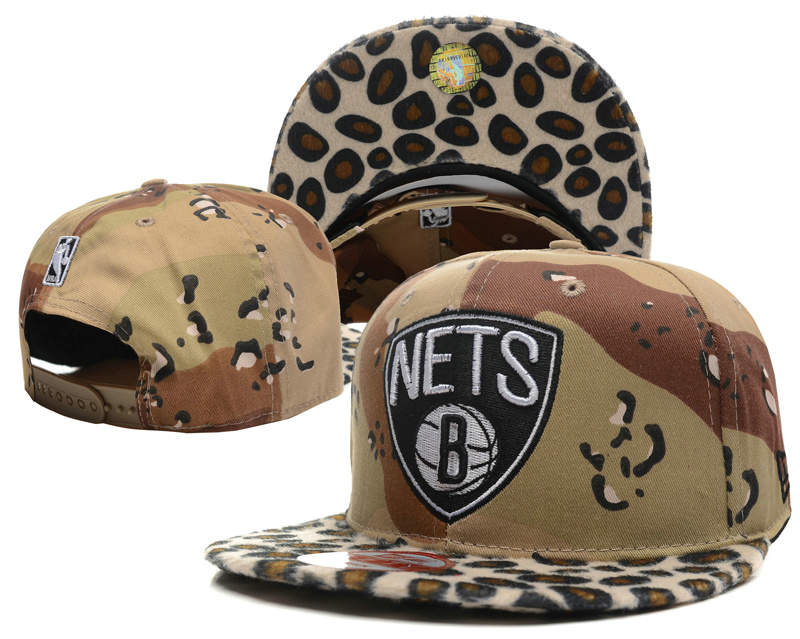 Brooklyn Nets Snapback Hat SD 0512